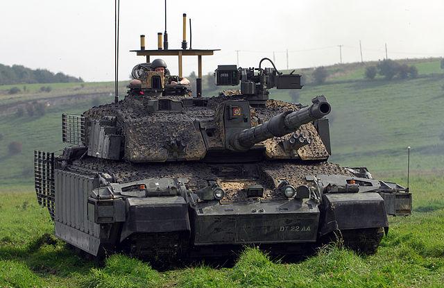 01793cbeae06 Licensed under OGL via Commons - https   commons.wikimedia.org wiki File Challenger Main Battle Tank with Improved Armour MOD 45149015.jpg  media File   ...