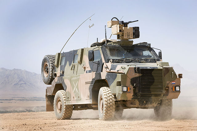 Bushmaster Protected Mobility Vehicle